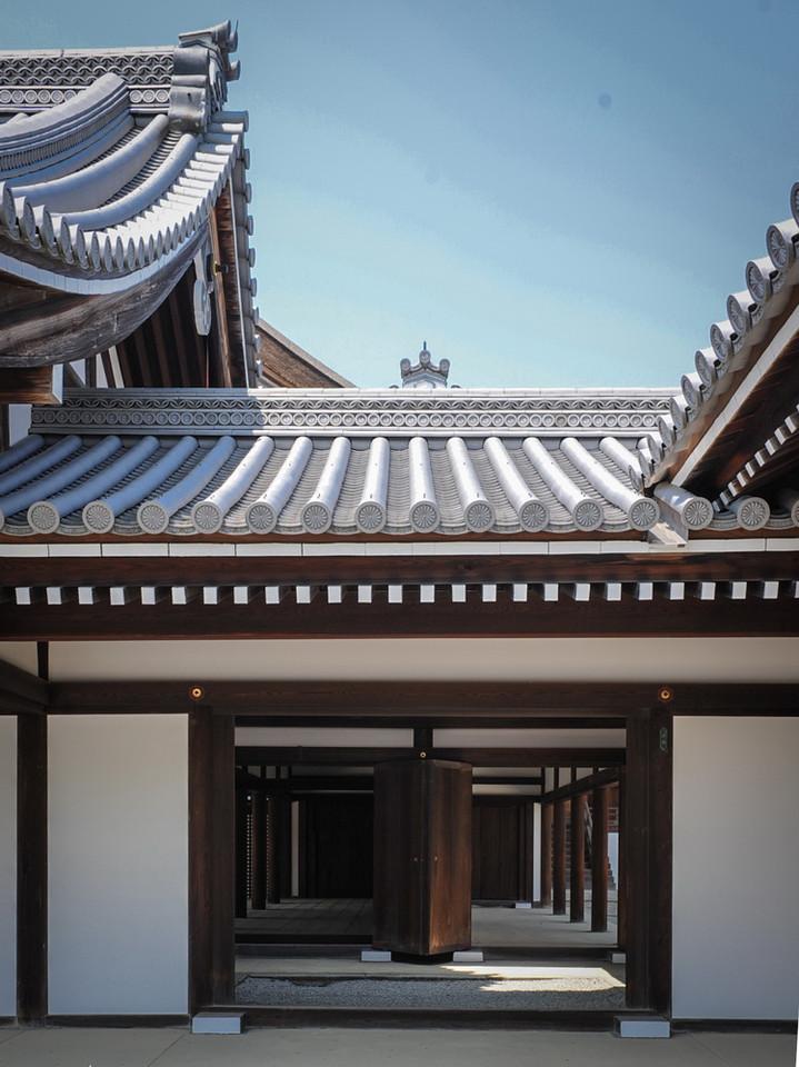 Détail de toiture du Palais