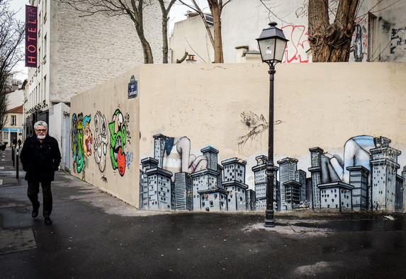 Paris - La butte au cailles