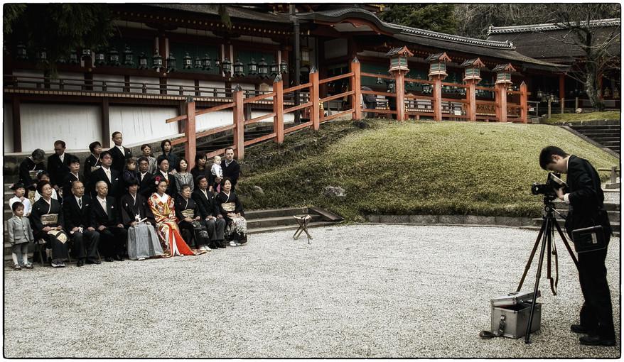 Nara - Mariage shinto