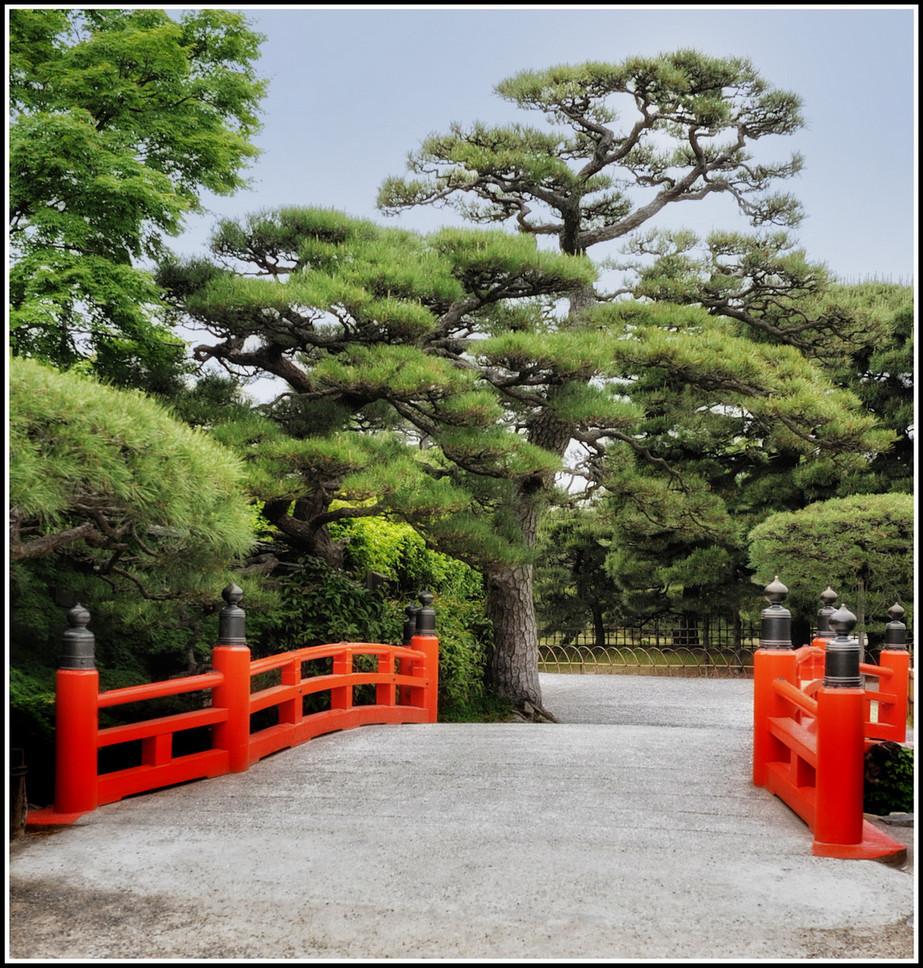 Parc Ritsurin Pont Takamatsu