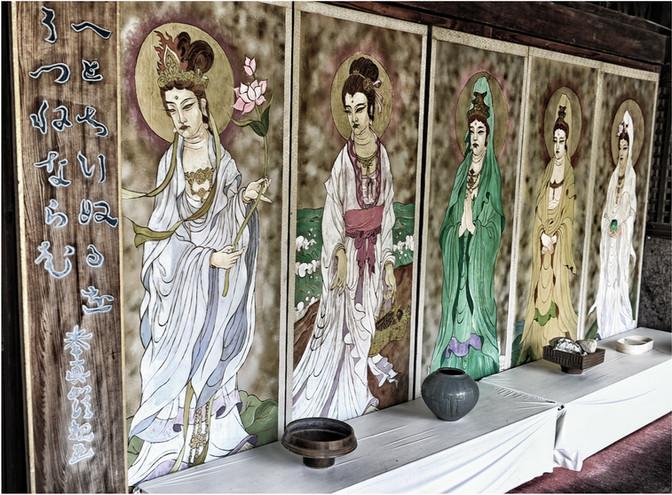 Matsuyama fresque temple