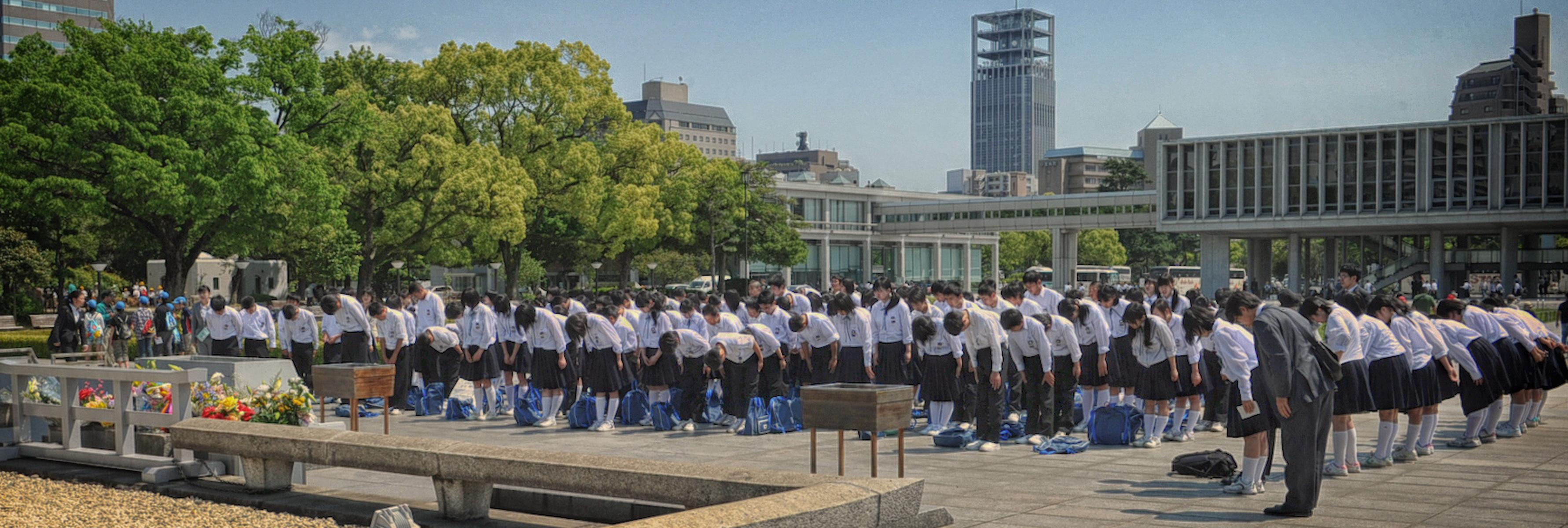 Hiroshima cérémonie