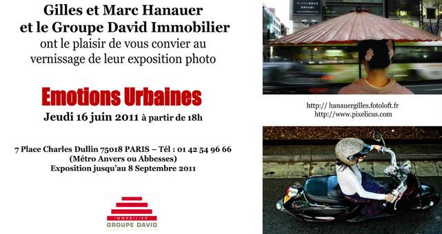 Invitation exposition 2011 Paris