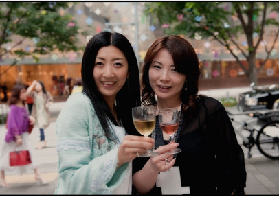 French wine party Tokyo Roppongi