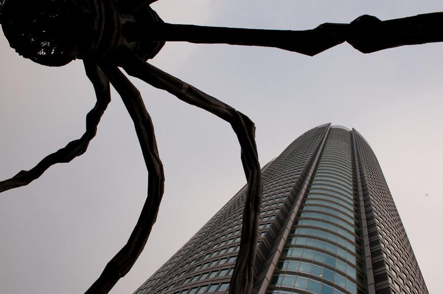 Tokyo Roppongi Araignée de Louise Bourgeois