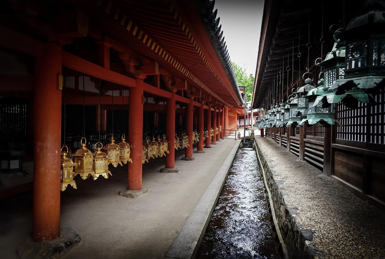 Nara Temple des lanternes