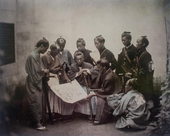 Felice Beato Le clan Satsuma
