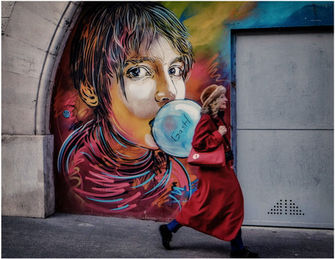 Street art Paris 13e