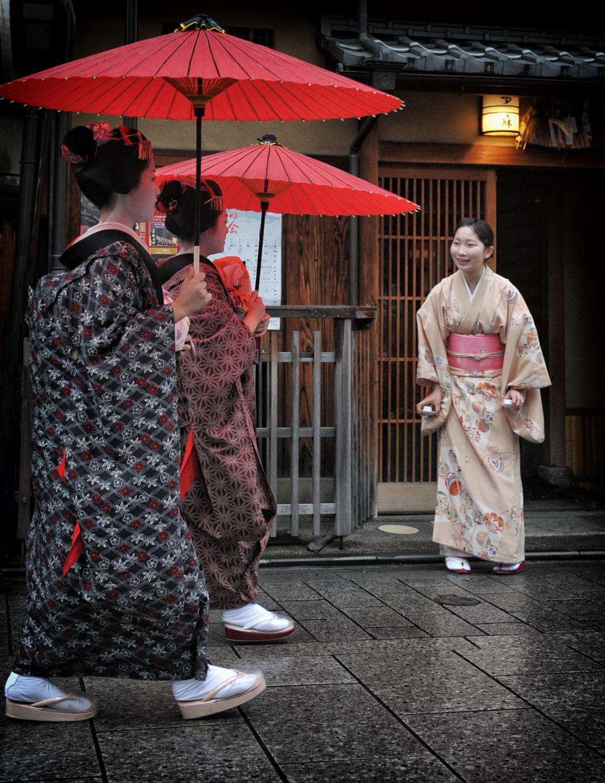 Un soir à Kyoto