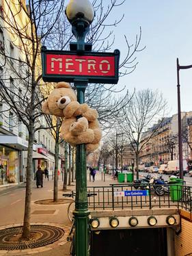 Nounours des Gobelins Paris 13