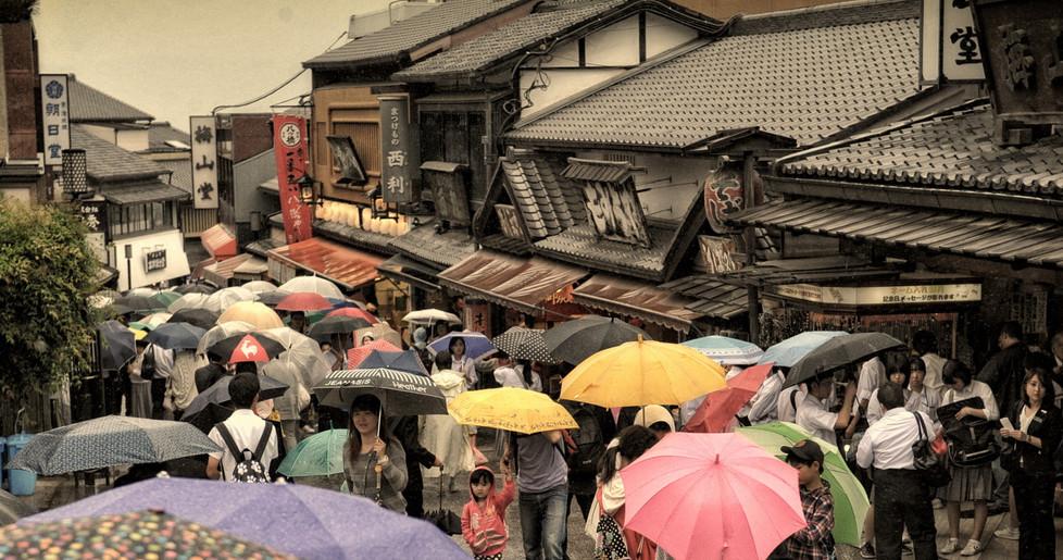 Kyoto ruelle vers Kyomizu