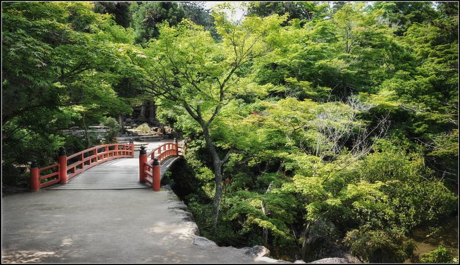 Ile de Miyajima pont rouge