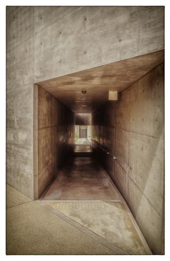 Hôtel Benesse - Couloir extérieur
