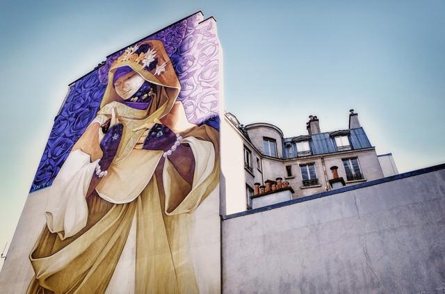 Sreet art 13e Paris.