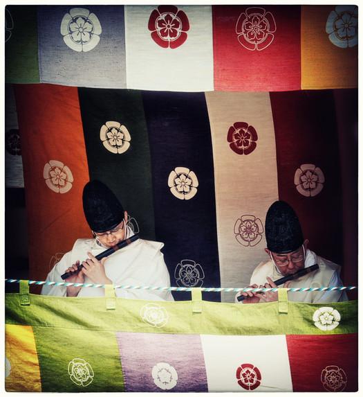 Shintô flûteurs
