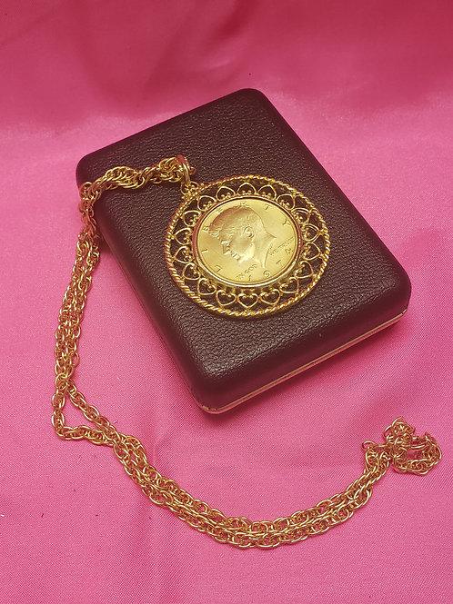 Collectors JFK Liberty Necklace