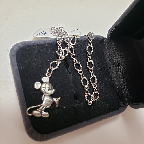 Chain Bracelet withSterling MickeyMouse Charm