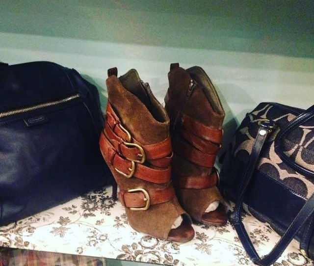 Coach Bags and Boots