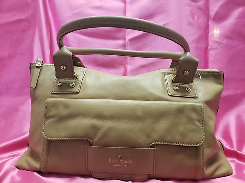 Kate Spade Tan Leather Satchel