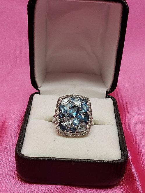 Topez Diamond Accent 925 Ring
