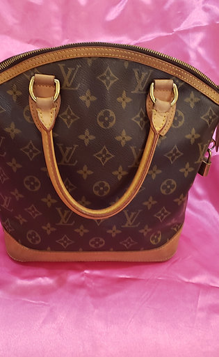 Genuine Louis Vuitton Lock It Purse