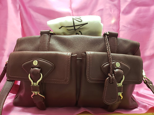 Cole Haan Burgundy Leather Purse