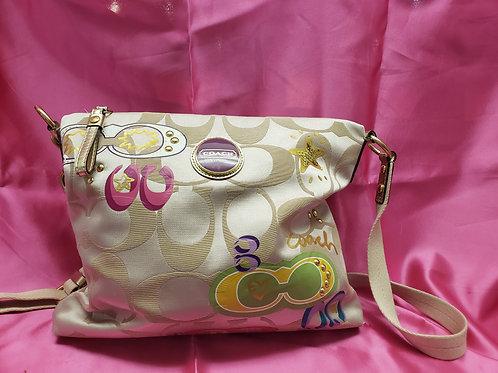 Coach Tan Signature Shoulder Bag F17585