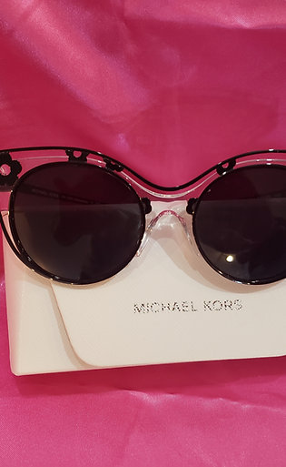 New Michael Kors Black Flower Sunglasses