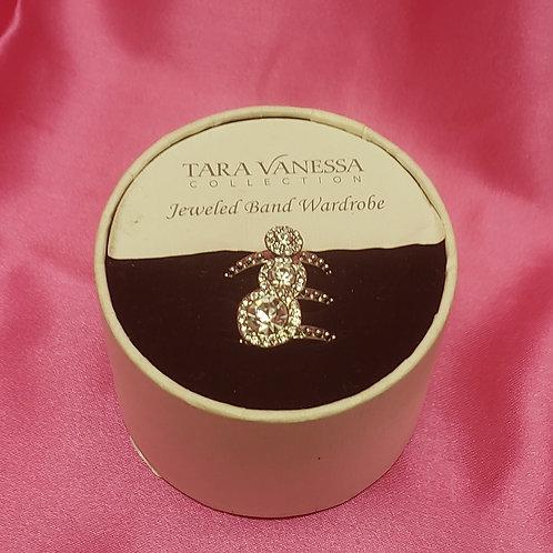 Tara Vanessa Stackable 3 Ring Set
