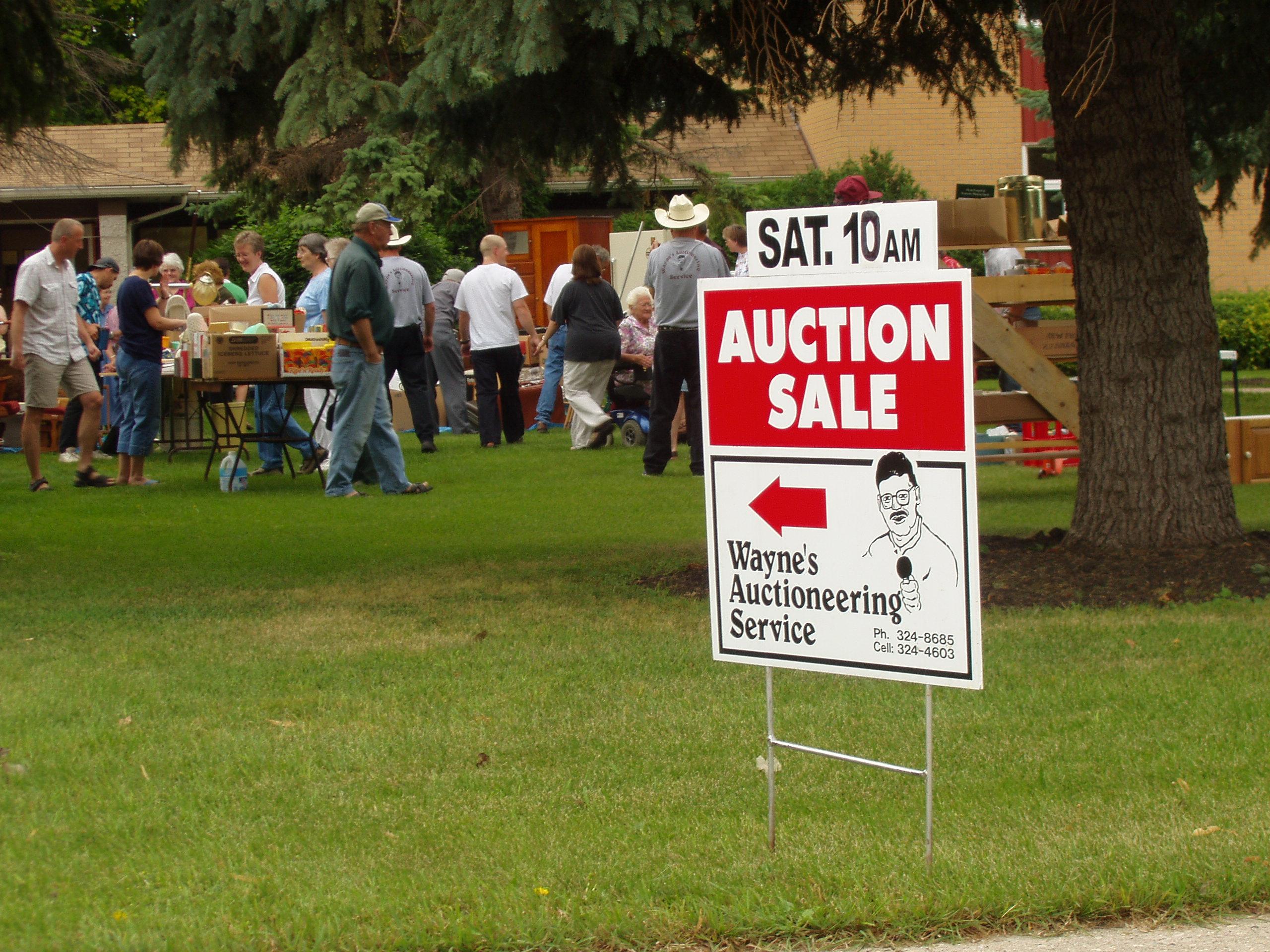 Wayne's Auctioneering Service