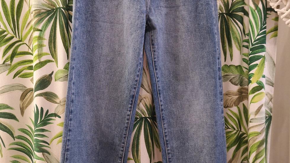 Jeans vita alta semplice