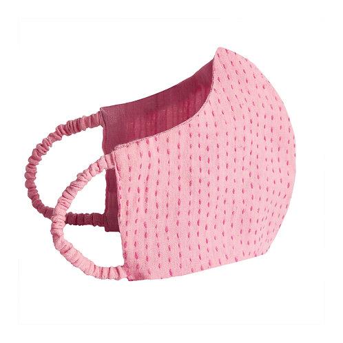 CLO DE VILA  X  WOMEN WEAVE Face Mask - Pink