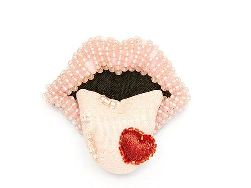 PALE BLUSH SMALL FRENCH KISS