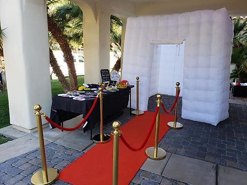 Photo Booth VIP Style w/ Nightlife Light-Up Canopy