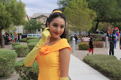 ABC's Princess Belle Themed Character Appearances
