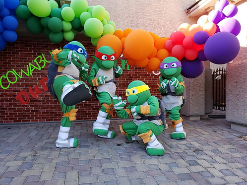ABC's Team 4 Turtles (Ninja Themed)