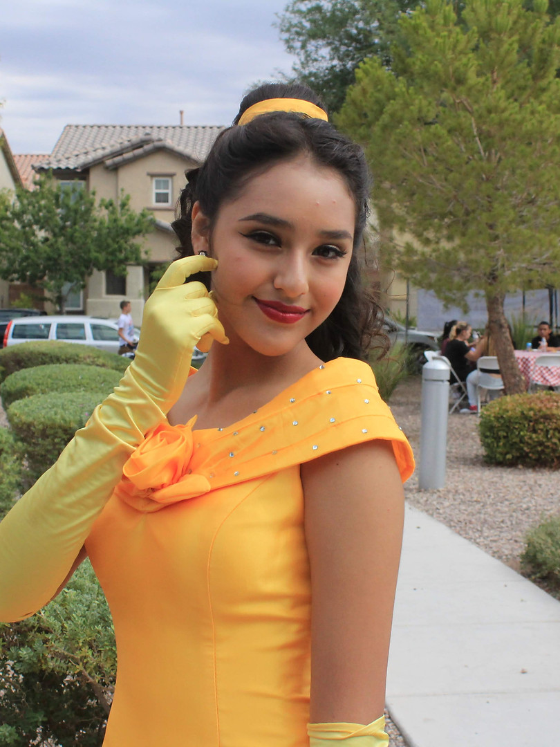 ABC's Princess Beauty Theme Character