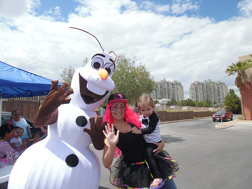 ABC's OLAF Frozen Theme Character