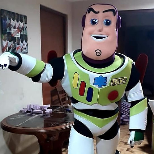 ABC's Buzz Lightyear Mascot Theme Character Appearances
