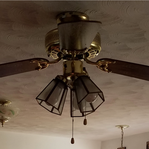 Cheap Update of a Ceiling Fan