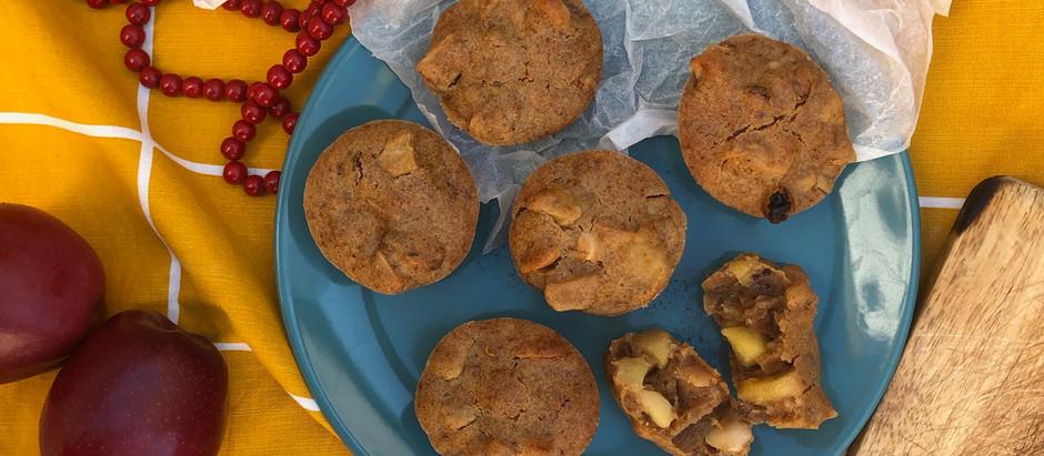 Muffins mele e cannella vegan