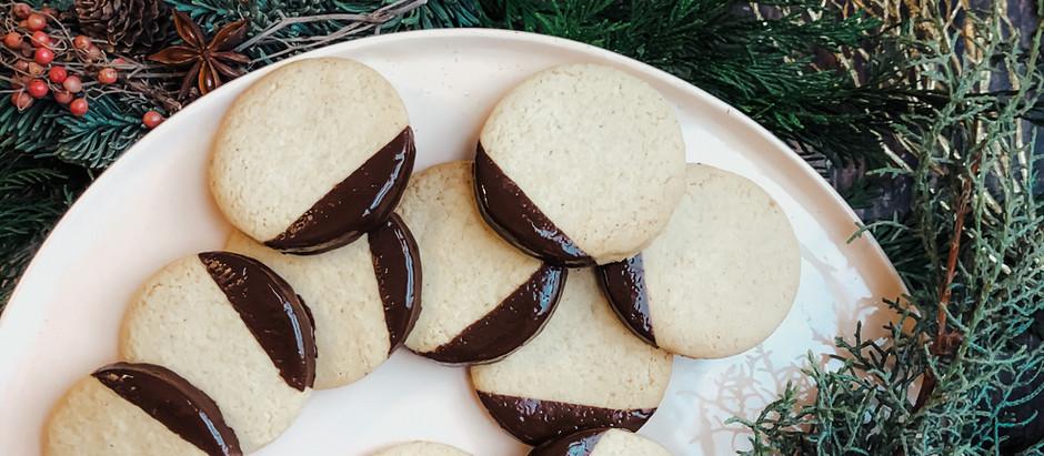 Biscotti speziati con cioccolato