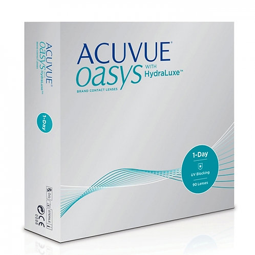 Acuvue Oasys 1 Day with HydraLuxe (90 Lenses)
