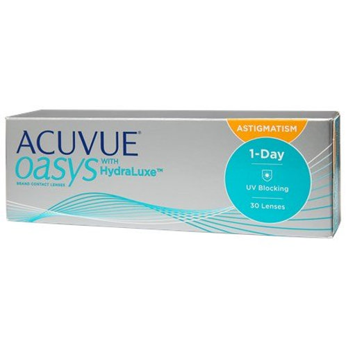 Acuvue Oasys One Day with HydraLuxe for Astigmatism (30 Lenses)