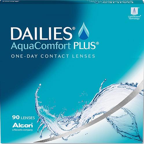Dailies Aqua Comfort Plus Sphere (90 Lenses)