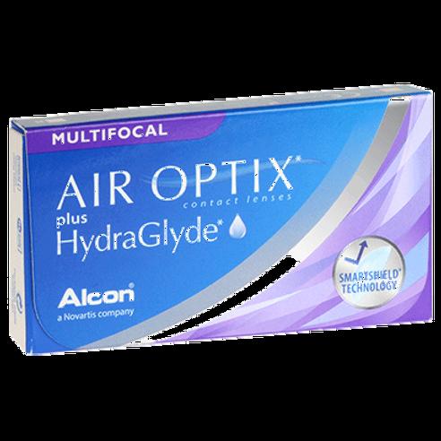 Air Optix plus HydraGlyde Multifocal (6 Lenses)