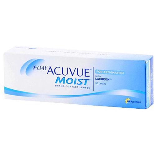 1 Day Acuvue Moist for Astigmatism (30 Lenses)