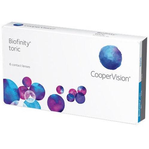 Biofinity Toric (6 Lenses)