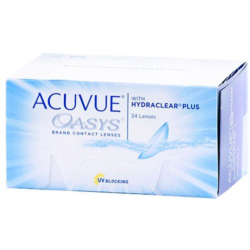 Acuvue Oasys with Hydraclear Plus (24 Lenses)