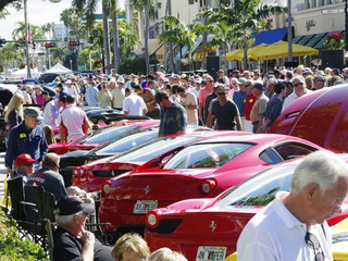 16th ANNUAL 'CARS ON 5TH'. Naples Florida